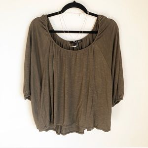 Willi Smith Tops - Willi Smith Flowy Bat Wing Blouse!